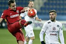 Fotbalová Zbrojovka Brno podlehla Slovácku 1:2.