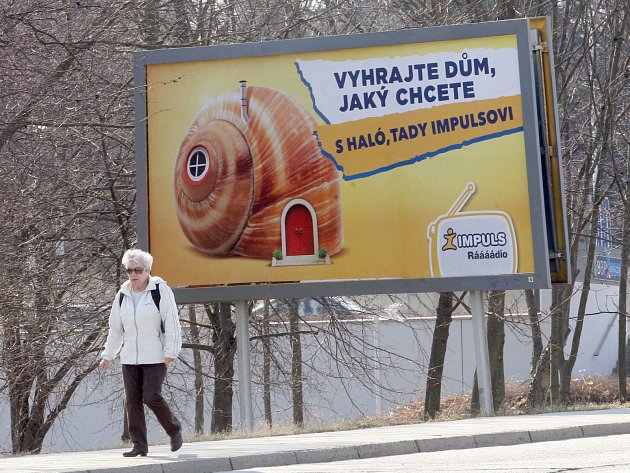 Billboard v Brně.