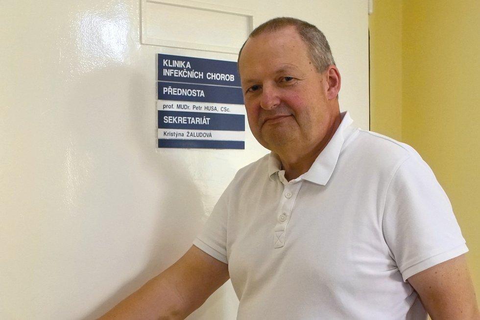 Petr Husa - přednosta Klinky infekčních chorob Fakultní nemocnice Brno. Zdroj: Deník/Attila Racek