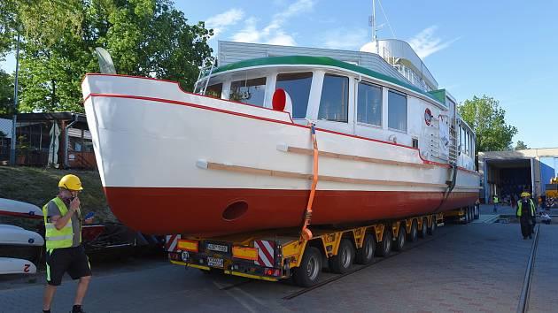 Chceme Moravu, rozhodli Brňané. Historické lodi vybrali nové jméno