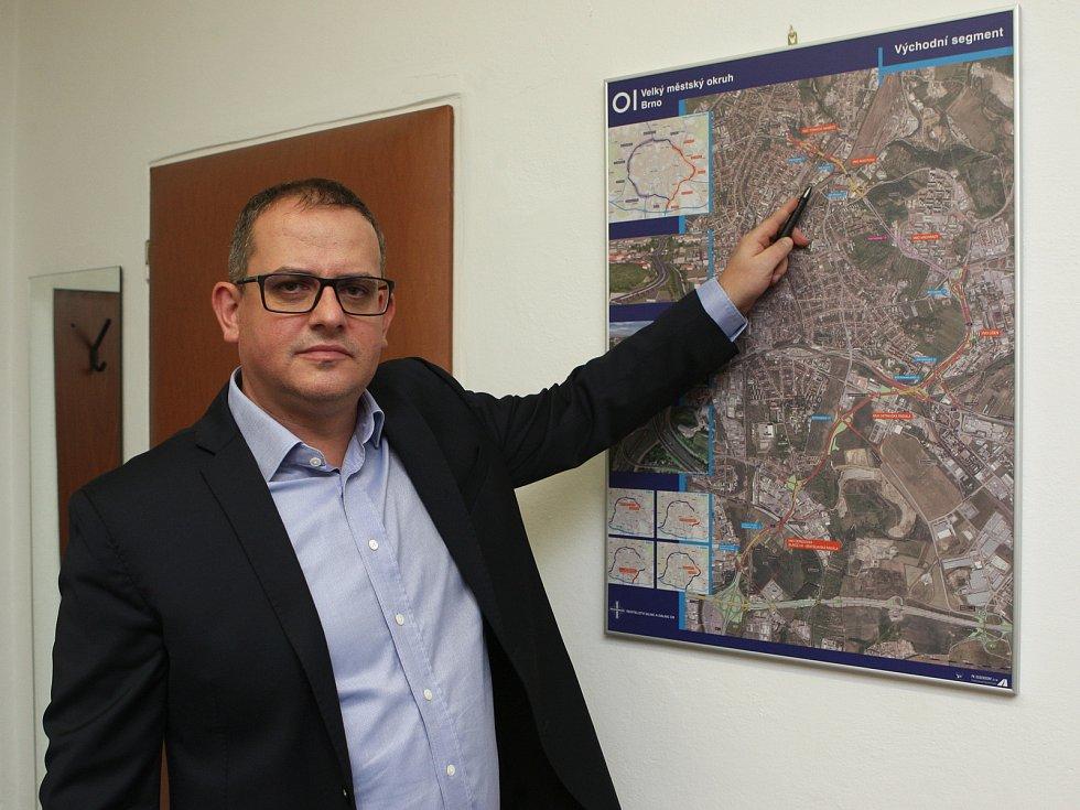 David Fiala, ředitel Závodu Brno Ředitelství silnic a dálnic