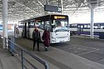 Opravené autobusové nádraží v Brně na Zvonařce