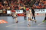 Florbalisté Znojma porazili v jihomoravském derby před kamerami České televize Bulldogs Brno 3:2.