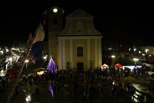 Hodonín, Masarykovo náměstí.