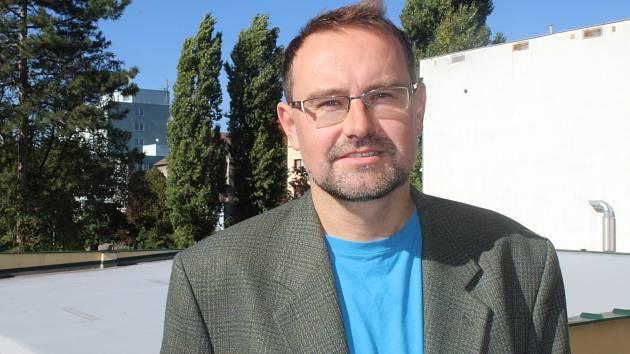 Redaktor Hodonínského deníku Rovnost Petr Turek.
