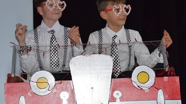 Děti zatančily v mikulovském městském kině.