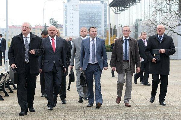 Vsobotu zaplnili brněnské výstaviště členové ODS.