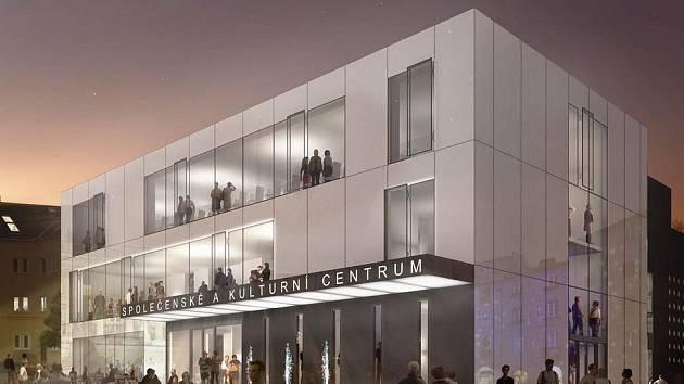 Jak bude vypadat opravený kulturní dům v Kuřimi.