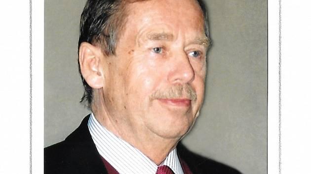 Václav Havel Archivní foto Eva Hubatová
