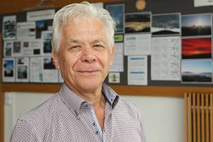 Brno 31.7.2019 - Rozhovor na konci týdne s klimatologem Jaroslavem Rožnovským z ČHMÚ v Brně.