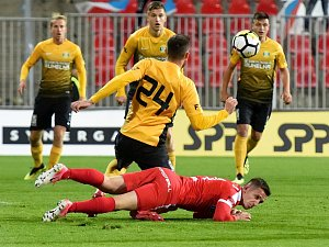 12. kolo Fortuna národní ligy mezi Zbrojovkou Brno a Baníkem Sokolov.
