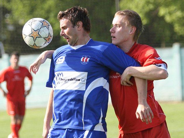 Divizní fotbalisté Líšně si v páteční předehrávce 23. kola divize D poradili s předposledním Ždírcem nad Doubravou.