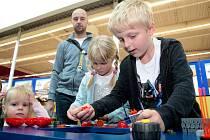 Akce Lego ostrov kreativity v Avion Shopping Parku.