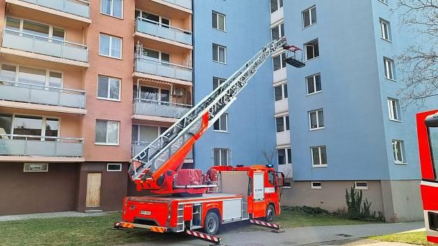 S transportem ženy pomohli hasiči.