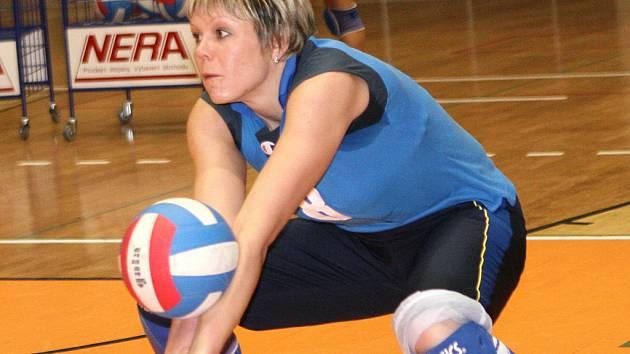 Posila královopolských volejbalistek ukrajinská smečařka Olga Andrusenková.