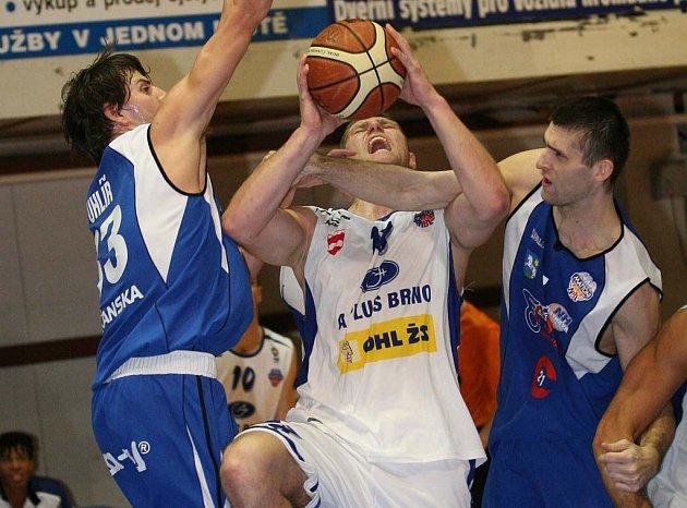 Brněnské basketbalisty převálcovala Ostrava