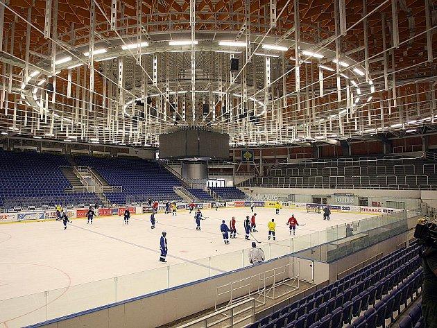 Brněnská hala Rondo po další etapě rekonstrukce.