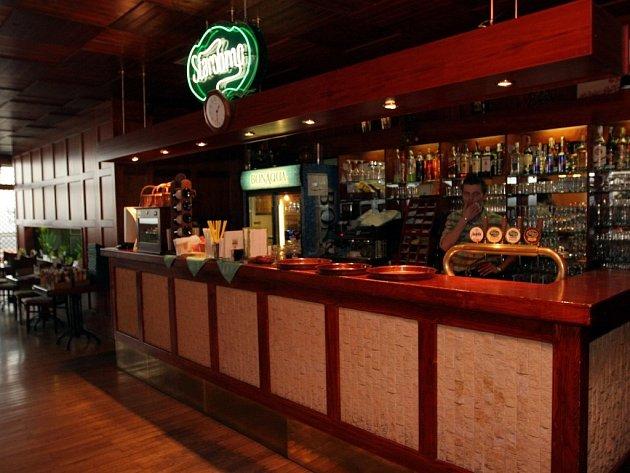 Restaurace Chicago v Novém Lískovci.