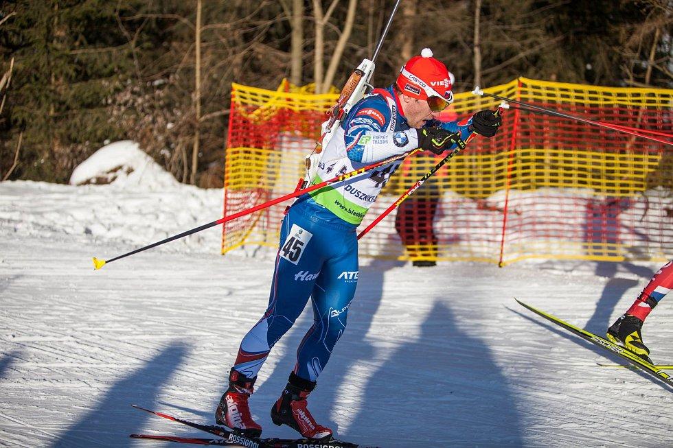 Brněnský biatlonista Hošek vládl specialistům při Jizerské padesátce. Vyhrál doprovodný závod na třicet kilometrů volnou technikou.
