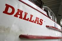 Brněnská loď Dallas šest let stála v doku. Dočkala se rekonstrukce a nyní se jí vybírá jméno.