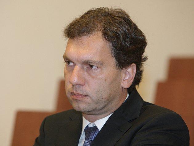 Obžalovaný Petr Kratochvíl.