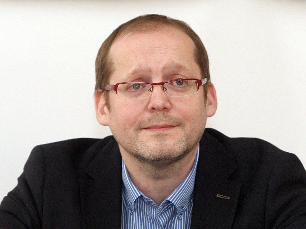 Tajemník městské části Brno-střed Petr Štika.