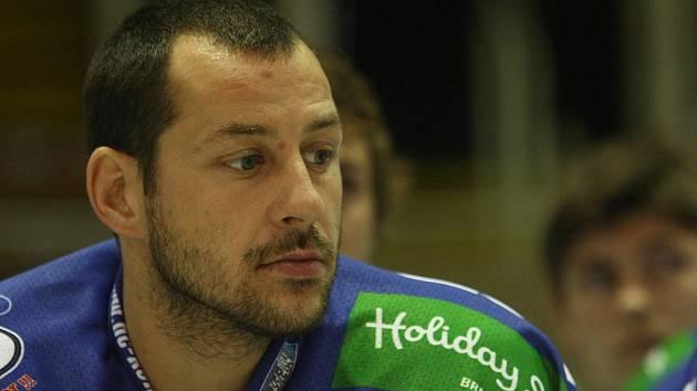 CÍTÍ ZODPOVĚDNOST. Brněnský útočník Kamil Brabenec už zná pocit nováčka ligy z působení v Budějovicích.