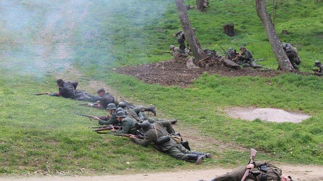 Veveří Eichhorn byla letos věnovaná bitvě z dubna 1945