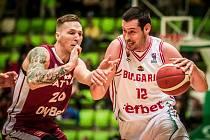 Georgijev (na snímku vpravo) je novou akvizicí brněnského Basketu.