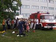 Děti ZŠ Měšťanská v Tuřanech se pravidelně seznamují s činností sboru.