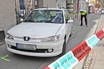 Tři zraněné děti skončily v nemocnici poté, co je srazilo auto v ulici Cejl v Brně.