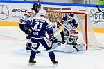 Hokejisté Komety přivítali v dohrávce pátého kola Vítkovice.