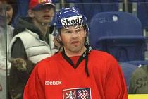 Česká hokejová reprezentace v brněnském Rondu - Jaromír Jágr.