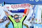 Obhájkyně triumfu na Czechman triatlonu Pavlína Baťková.