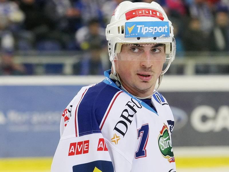 Tomáš Kaberle ještě v dresu brněnské Komety.