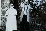 Sourozenci otce Terezie Hrdličkové teta (mamka) Anna Kalábová a strýc Antonín Rumpa.