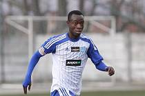 Ghanský fotbalista Joachim Adukor.