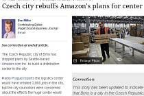 """Za """"vesnici u Prahy"""" označil Brno ve svém článku americký ekonomický server Puget Sound Business Journal."""