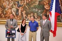 Americký astronaut Andrew Feustel navštívil Brno.
