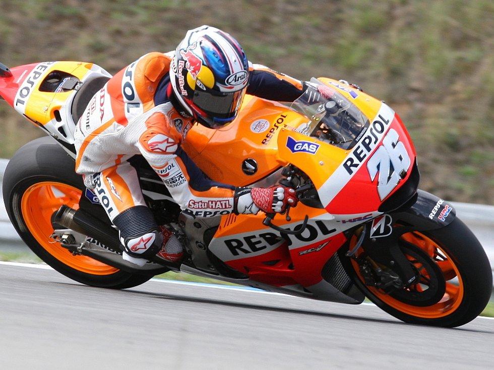 Motocyklový závodník Dani Pedrosa.