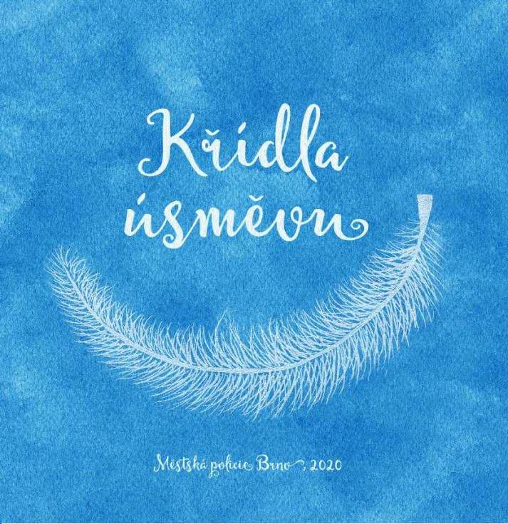 Přebal CD Křídla úsměvu ilustrovala Jana Kačmárová..