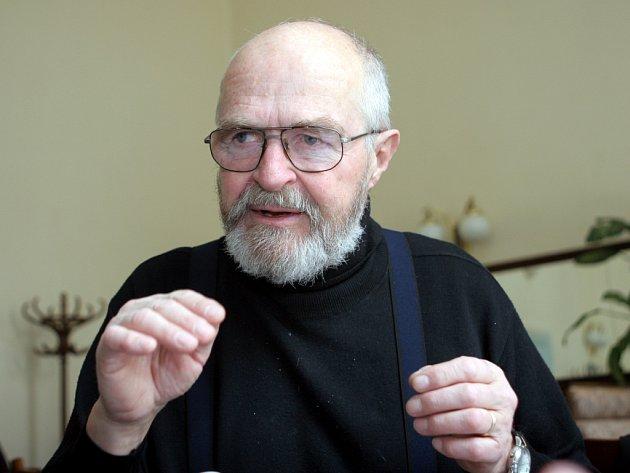 Trumpetista Jaromír Hnilička.