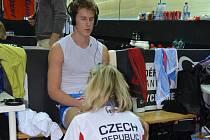 Zklamaný Pavel Kelemen po vyřazení ze sprintu.