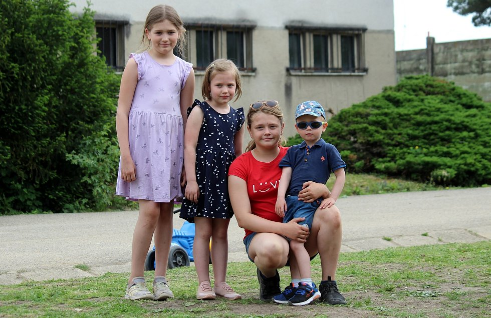Dětský den v zážitkovém areálu Bunkr v Mokré-Horákově.