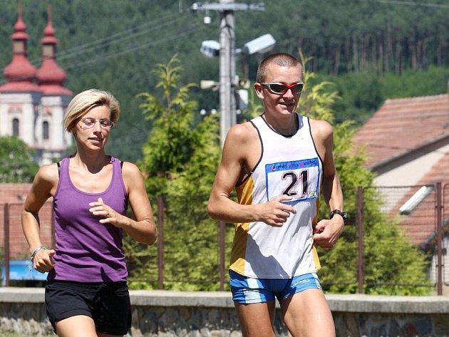 Slovenský běžec Ondřej Evin.