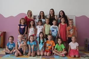 Předškoláci z mateřské školy v Telnicích