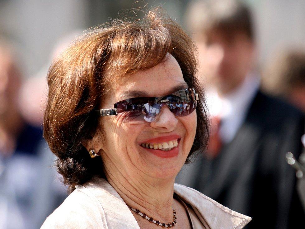 První dáma Livie Klausová