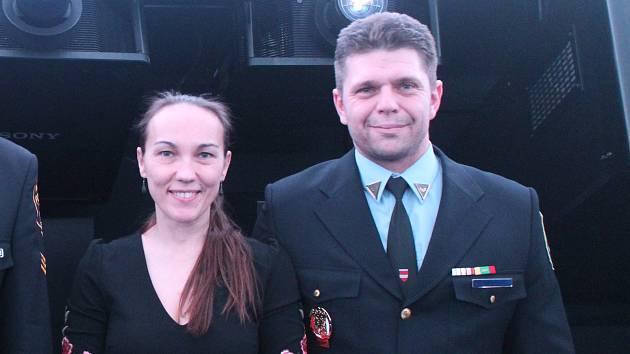 Ocenění za Čin roku 2018 získali od Městské policie Brno Petr a Monika Čermákovi.