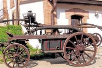 Historická stříkačka čebínských hasičů