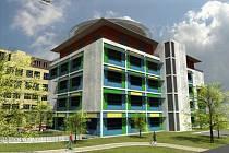 Ukázka vizualizace jednotlivých částí nemocnice po modernizaci.